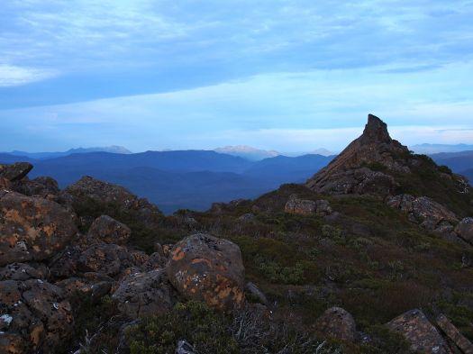 Then off to the Cheyne range, enjoying the random bits of rock on the way.