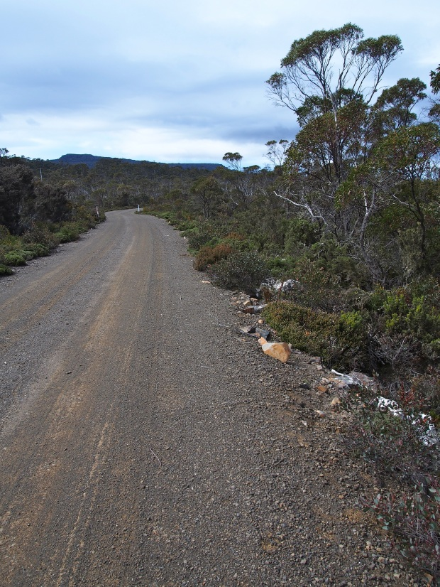 The road.. somewhat unexciting! Take a bike if you can...