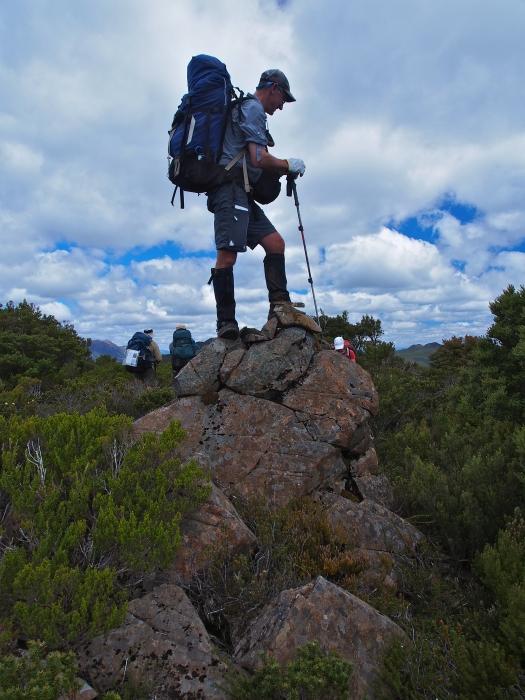 On the summit of Ronald Cross