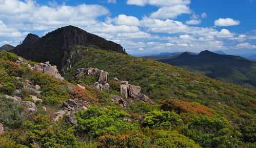 Needle Rock and Diamond Peak