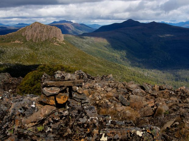 A view towards Cuvier, Goulds Sugarloaf looking rather distant!