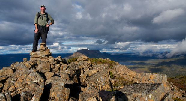 And in reward, we got to enjoy the summit of Cuvier :)!