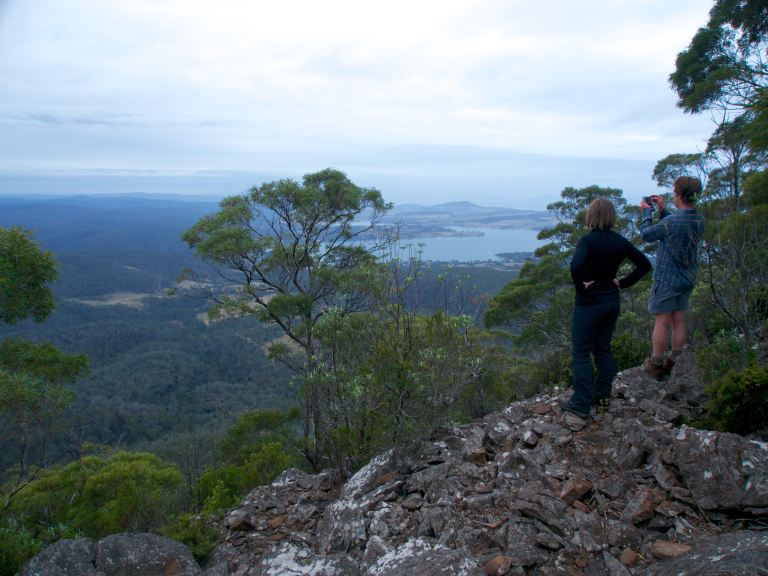 Lookout to Orford and Triabunna