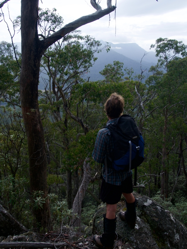Ben checks out the views - I think they pass