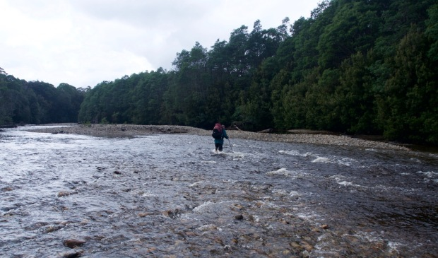 We set off, across the Eldon and South Eldon rivers