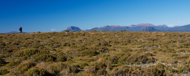 On the ridge we'd camp on