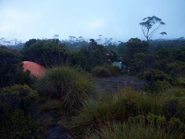 Camping at Five Duck Tarn
