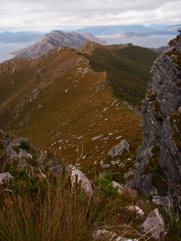 More lovely ridge lines, Solitary in the background