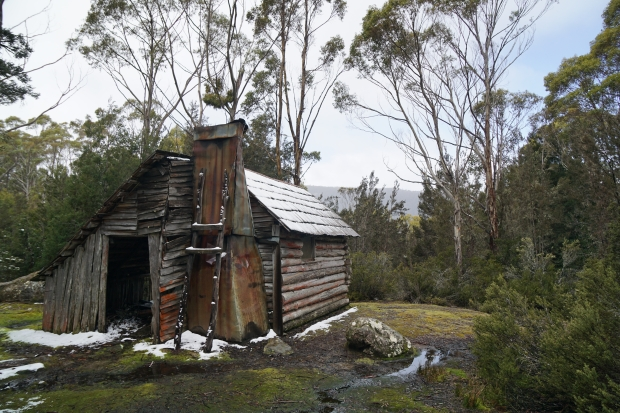 The hut at Lake Meston