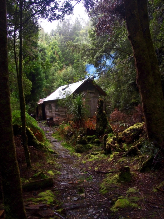Fraser Creek hut - pretty no?